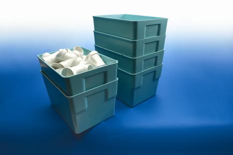 Fiberglass Nesting Containertrays Aim Reusable Packaging
